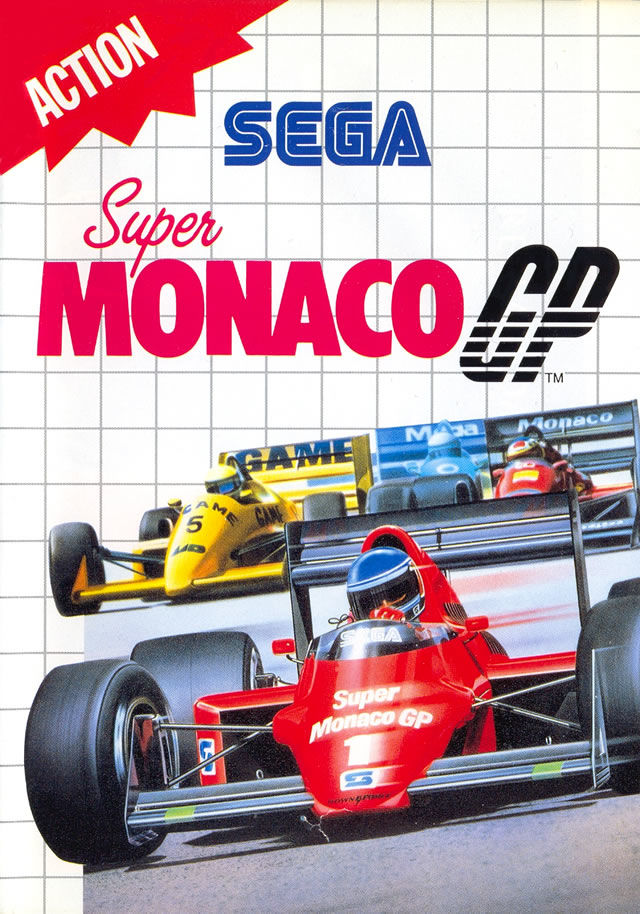Super Monaco GP – SEGA Master System (boxed)