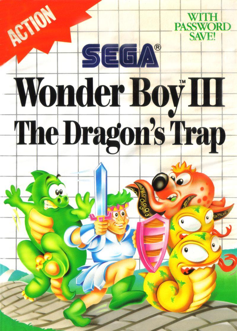 Wonder boy 3 the dragon's trap – SEGA Master System (boxed)