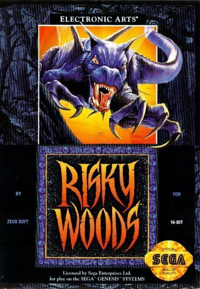 Risky Woods – SEGA Genesis (Cartridge)