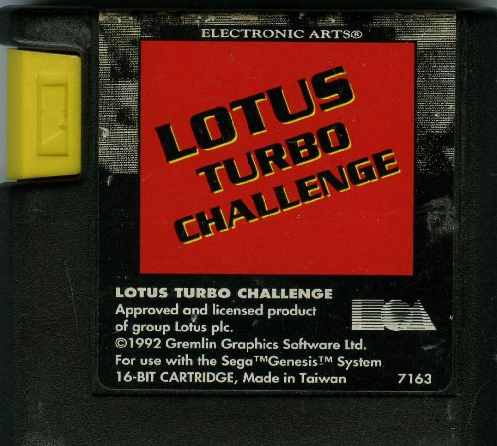 Lotus Turbo Challenge – SEGA Genesis (Cartridge)