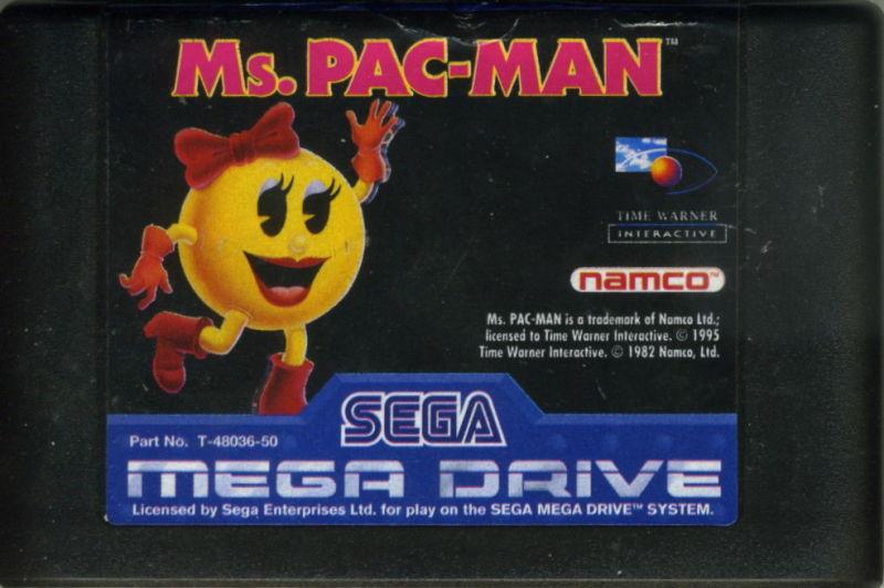 Ms. Pac-Man – SEGA Mega Drive (Cartridge)