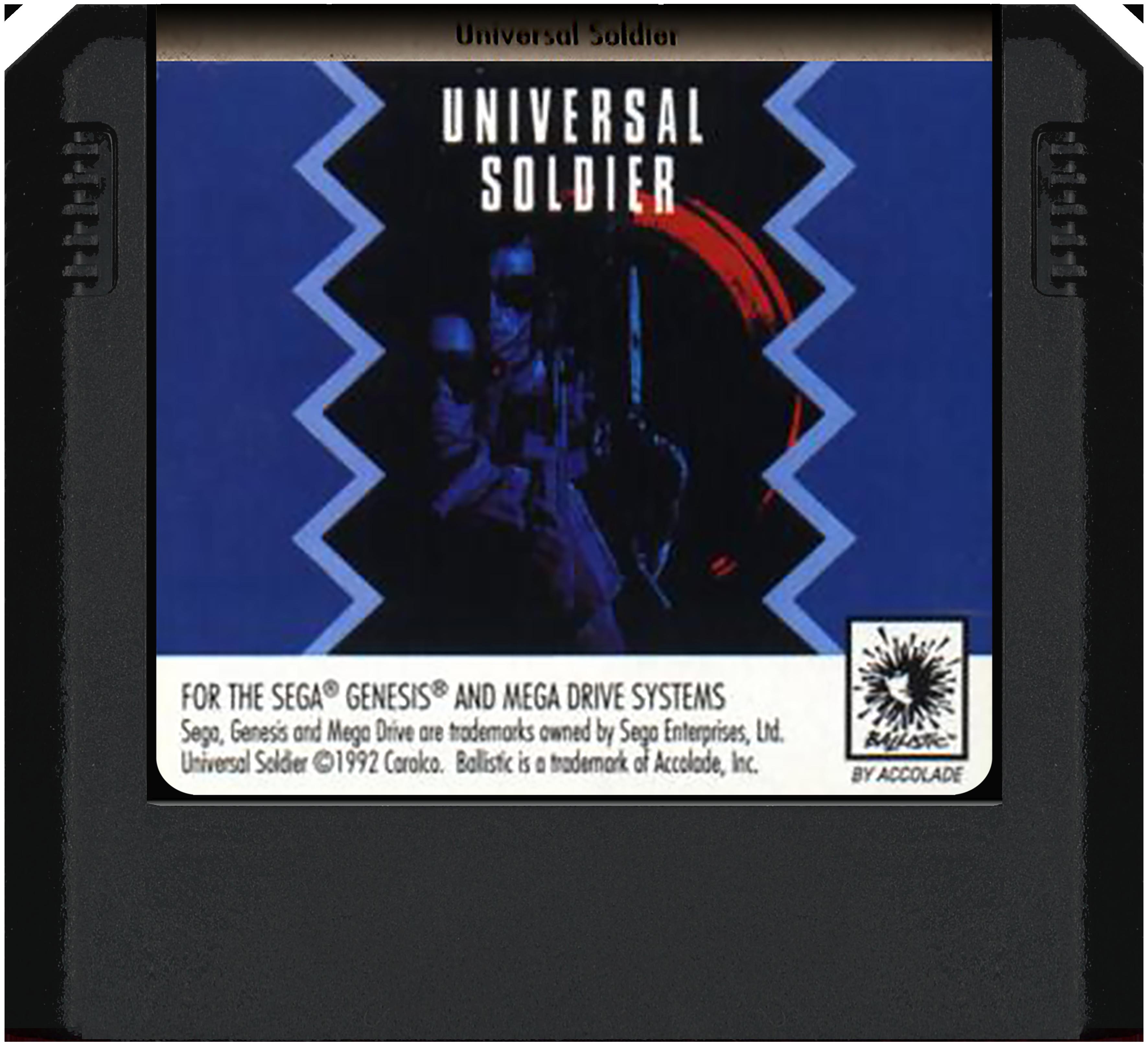 Universal Soldier – SEGA Mega Drive/Genesis (Cartridge)