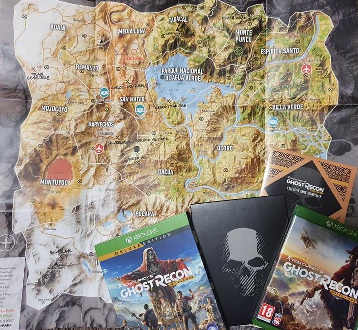 Tom Clancy's Ghost Recon Wildlands Deluxe Edition (kód már nem él)