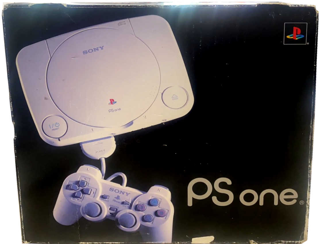 Sony PlayStation 1 Slim (PSOne) SCPH-102 (sérült dobozos, belső karton nélkül)