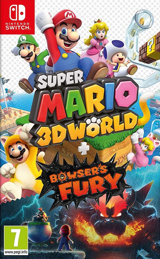 Super Mario 3D World + Bowsers Fury (Új) Nintendo Switch