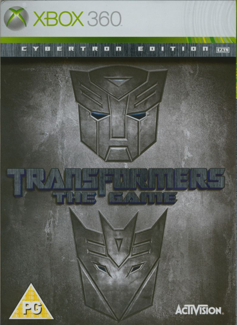 Transformers The Game Cybertron Edition (no slipcase)