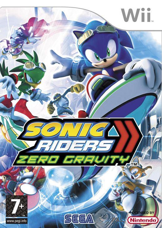 Sonic Riders Zero Gravity Nintendo Wii